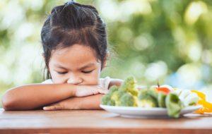 Truco para que los niños coman verduras